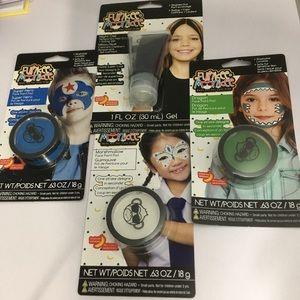 Face paint and hair color lot